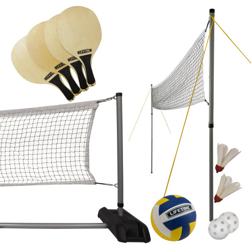 Lifetime Volleyball, badminton, pickleball kit, 90541