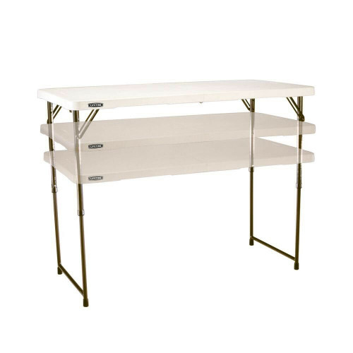 Adjustable table 122x60cm Lifetime 4428