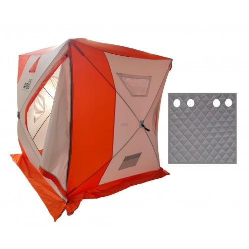 Winter tent ARGO Cube with a Thermo bottom, 2.4х2.2х2.2 m