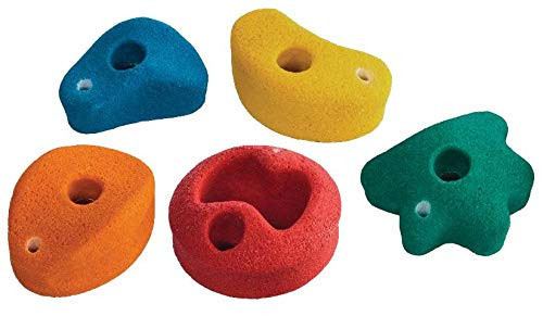 Laipiojimo sienelės akmenys  КВТ Ø115-130 mm, įvairiaspalviai, 5 vnt.