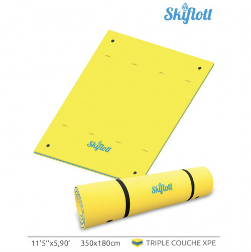 Plaukiojantis vandens kilimėlis SKIFLOTT-L 350x180х3,5 cm (SKIFLOTT-L)