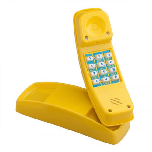 КВТ žaislinis telefonas su skambučiu  (tvirtinimai), 22x6х8 cm