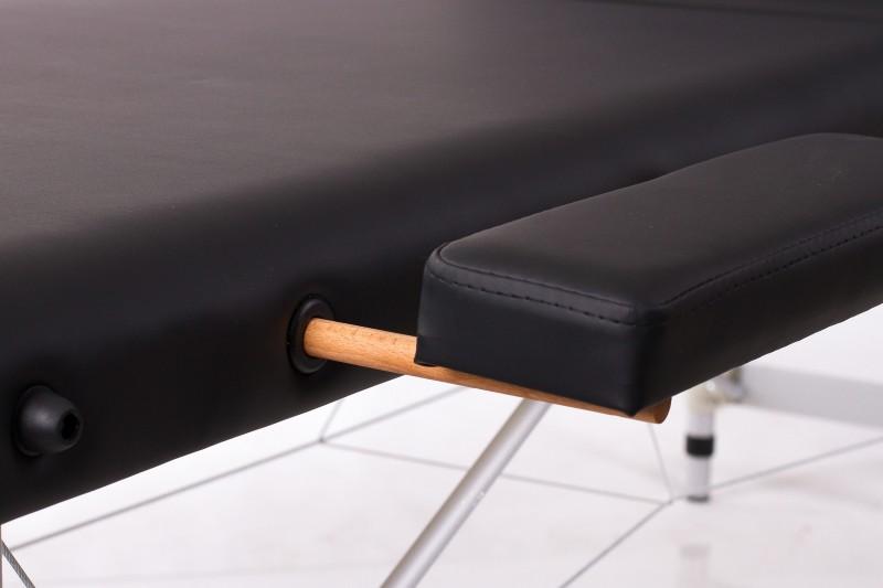 RESTPRO® ALU 3 Black sulankstomas masažo stalas