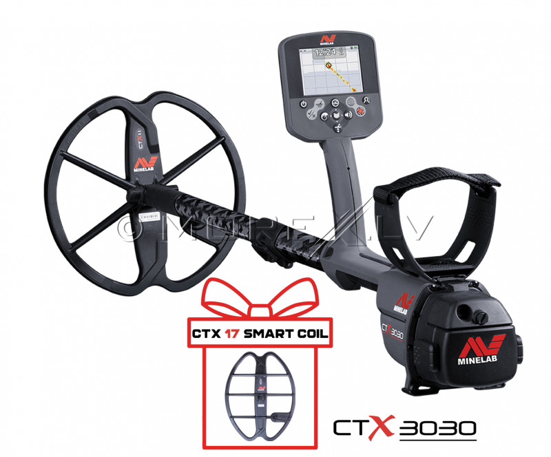 Metal Detector Minelab CTX3030 (3228-0101) + GIFT