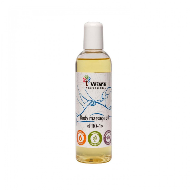 Body massage oil Verana Professional, PRO-1 250ml (without aroma)