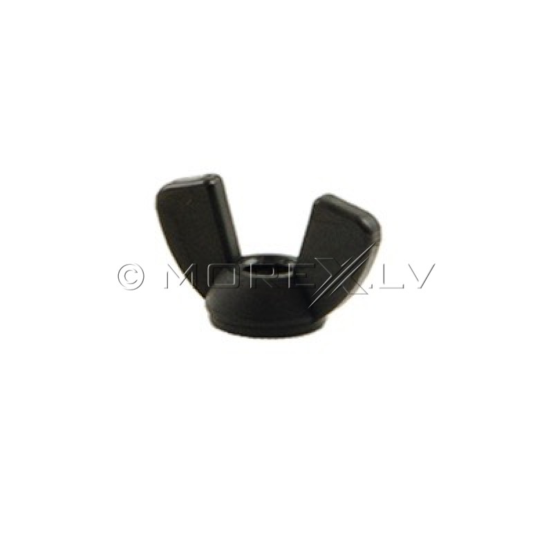 Minelab Nut, 1/4-20 Unc Nylon Wing Black