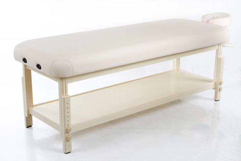 Masažo stalas Classic-Flat Beige