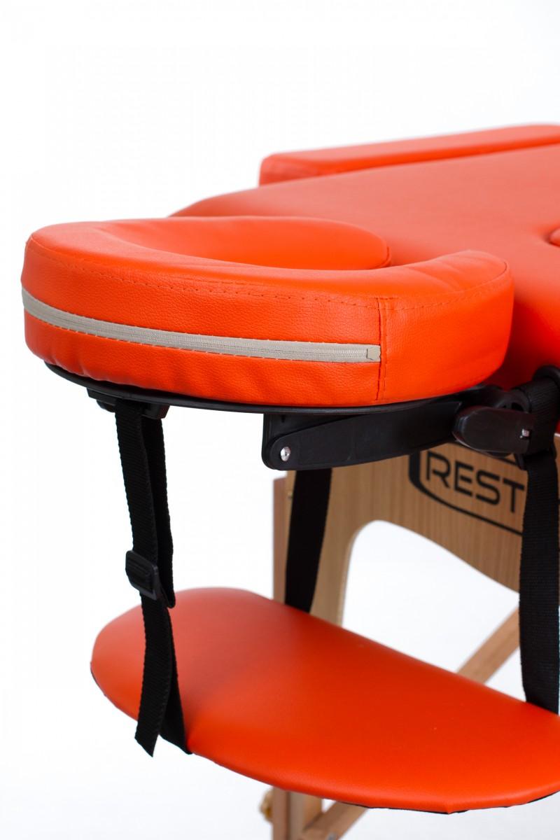 RESTPRO® Classic-2 Orange sulankstomas masažo stalas