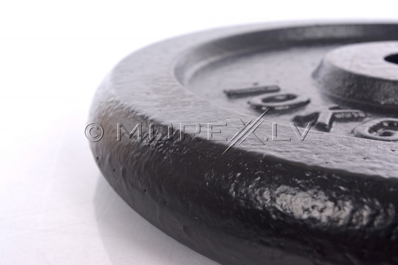 Steel weight disk for barbells and dumbbells (plate) 10kg (31,5mm)
